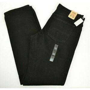 Urban Pipeline Regular Fit Black Jeans 33x34